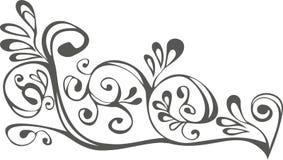 черная белизна орнамента Стоковые Изображения RF