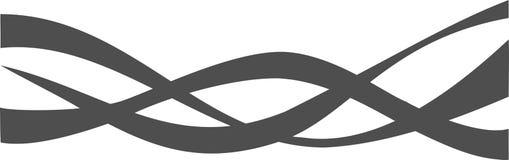 черная белизна орнамента Стоковая Фотография RF