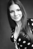 черная белизна портрета Стоковое фото RF