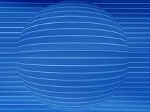 черная белизна сферы Стоковое фото RF
