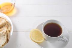 черная белизна чая чашки стоковые изображения rf