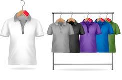 черная белизна шаблона рубашки t конструкции Стоковые Фото