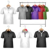 черная белизна шаблона рубашки t конструкции Стоковое Изображение RF