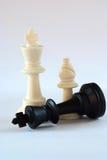 черная белизна шахмат Стоковое фото RF
