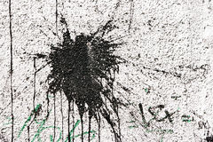 черная белизна штукатурки помаркой Стоковые Фотографии RF