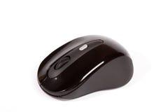Черная беспроволочная мышь Стоковые Фотографии RF