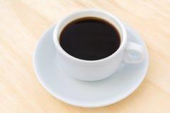 черная белизна кофейной чашки Стоковые Изображения