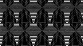 черная белизна серо Картины иллюстрация вектора