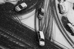 черная белизна Стоковая Фотография
