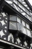 черная белизна tudor здания Стоковые Фото