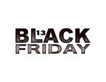Черная бирка черноты продажи пятницы, круглое знамя Стоковые Изображения