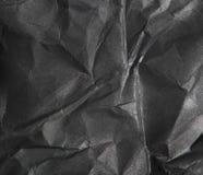 Черная бумажная предпосылка текстуры Стоковые Изображения RF