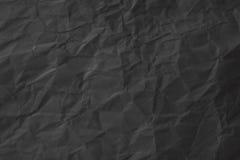 черная бумажная текстура Стоковые Изображения RF