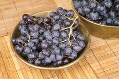 черная виноградина Стоковое Фото