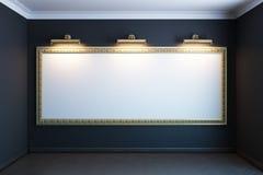 черная витрина комнаты рамки Стоковая Фотография