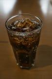 Черная вода в стекле Стоковая Фотография
