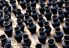 Черная гончарня Стоковые Фотографии RF