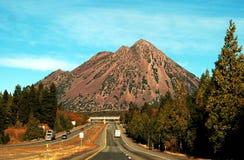 черная гора butte Стоковые Изображения