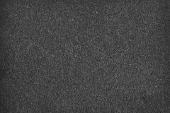 Черная губка, текстура пены Стоковые Изображения