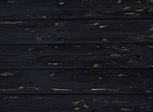 Черная деревянная предпосылка, старая, текстура, для дизайна Стоковые Изображения