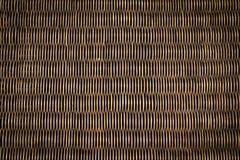 черная древесина текстуры ротанга Стоковые Изображения RF