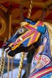 черная езда лошади Стоковые Фото