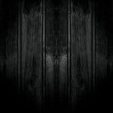 Черная деревянная предпосылка текстуры Стоковая Фотография RF