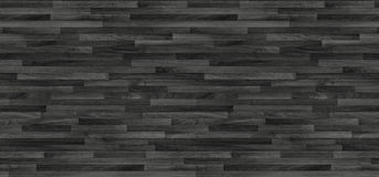 Черная деревянная текстура партера панели предпосылки старые Стоковая Фотография RF