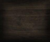 Черная деревянная текстура Стоковая Фотография
