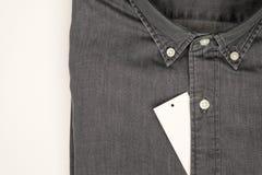 черная джинсовая ткань Стоковое фото RF