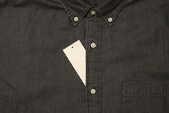 черная джинсовая ткань Стоковые Изображения RF