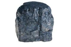 черная заполированность угля Стоковая Фотография