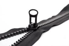 черная застежка -молния стоковая фотография rf