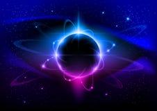 черная звезда Стоковое Изображение RF
