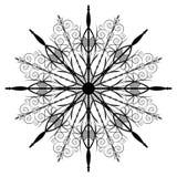 черная звезда Стоковая Фотография RF