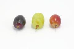Черная зеленая красная виноградина Стоковое Изображение RF