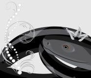 Черная змейка с кроной диаманта Стоковые Изображения