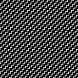 Черная диагональ выравнивает безшовную картину Волнистый, зигзаг передернул li бесплатная иллюстрация