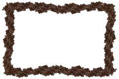 черная изолированная рамка икры Стоковая Фотография RF