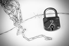 черная изолированная свобода принципиальной схемы Стоковое Изображение