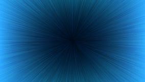 Черная линия взрыв Рэй скорости света на голубую предпосылку Стоковые Изображения