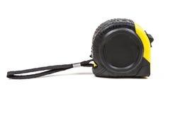 Черная и желтая измеряя лента Стоковая Фотография