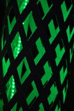 Черная и зеленая геометрическая картина - предпосылка Стоковое Фото