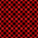 Черная и красная картина шотландки тартана шотландская безшовная Текстура от тартана, шотландки, скатертей, одежд, рубашек, плать иллюстрация вектора