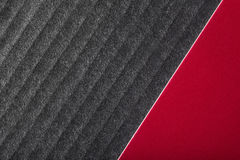 Черная и красная роскошная предпосылка Стоковое Фото