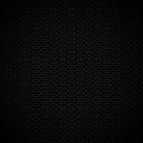 Черная и серая картина с сотами иллюстрация вектора