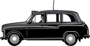 черная кабина иллюстрация штока