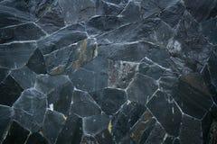 Черная каменная текстура картины Стоковые Изображения