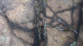 черная каменная текстура Стоковая Фотография