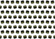 Черная картина тыквы Стоковые Изображения RF